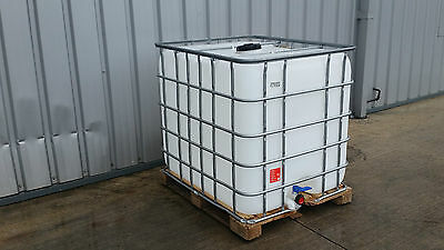 IBC 1000 Litre Water Tank / Water Butt / Storage - Collection Wrexham - Mon-Fri