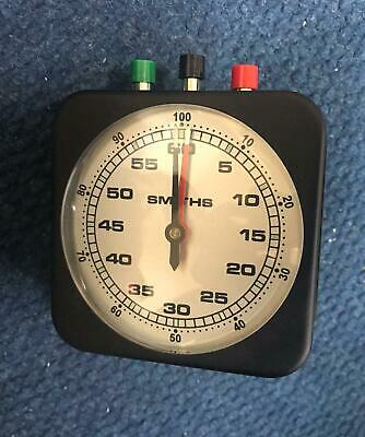 Smiths Time Elased Clock Timer School Analogue NS-22G