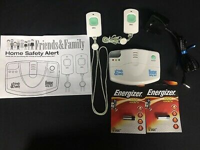 Home Emergency Alert Call Buttons - Easy to use and easy to set up