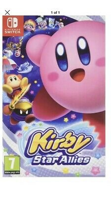 Kirby Star Allies For Nintendo Switch. Comes Boxed. Happy Bidding!