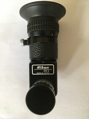 Nikon DR-3 Right Angle Eyepiece finder Great condition see pics
