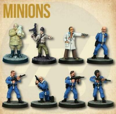 Crooked Dice 7TV Minions Starter Cast (2nd Printing) Pack MINT