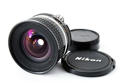 Nikon Ai-s Nikkor 20mm f/2.8 Ais Wide Angle MF Lens from Japan 【Excellent】