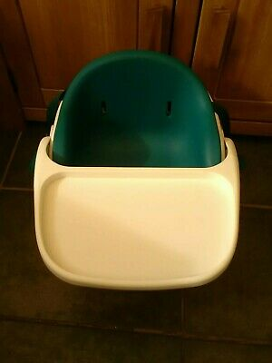 Mamas and Papas Baby Bud Booster Seat and Tray - Green