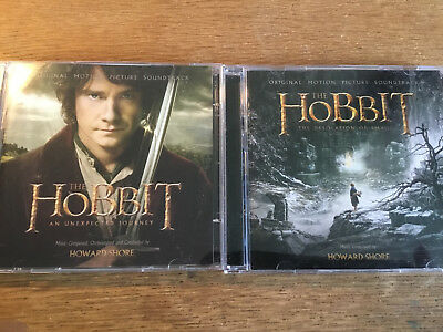 Howard Shore [4 CD] The Hobbit - The Desolation of Smaug + An Unexpected Journey