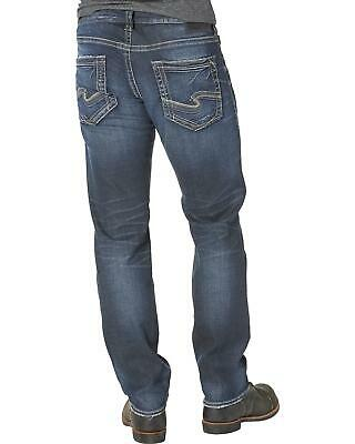 10091685adb SILVER MEN'S EDDIE Relaxed Fit Tapered Leg Jeans - M42995RAS454 ...