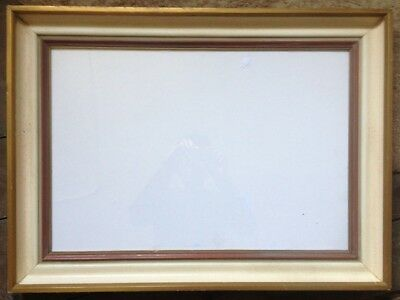Picture Frame ° Folded 55,5 x 75 cm, Outdoor 64 x 44,5 cm Vintage Retro Glass