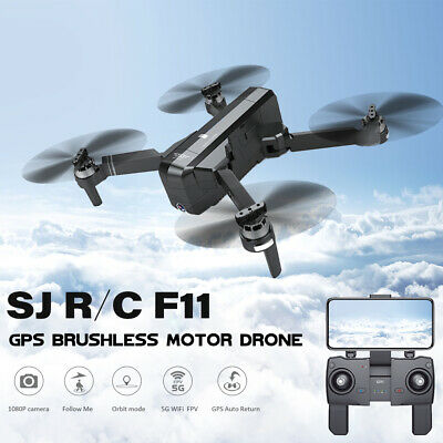 SJRC GPS Follow FPV With 1080P HD Camera 5G Wifi RC Drone Quadcopter O0D4