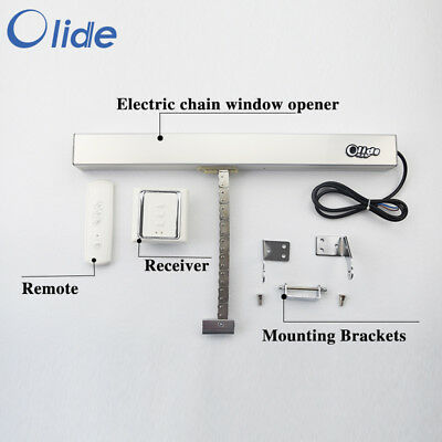 Automatic Chain Window Opener / Actuator with Remote Control