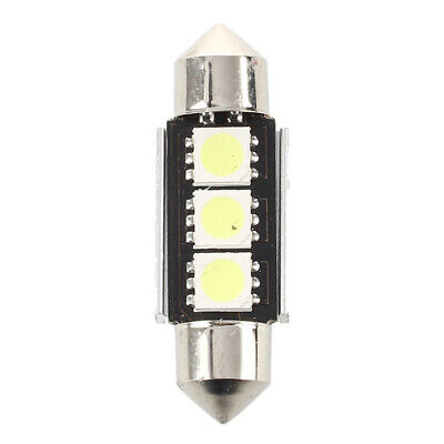 1X(2 SMD 36mm 3 LED Bombilla Interior Festoon Canbus 12V V9M9) 5O