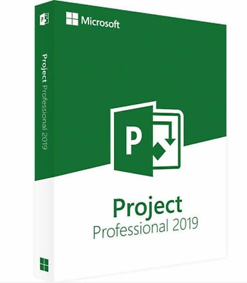 Microsoft Project 2019 Pro Professional Official Download & Key- 32/64 Bit
