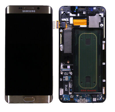 Original Samsung Galaxy S6 Edge Plus SM-G928F Display Gold