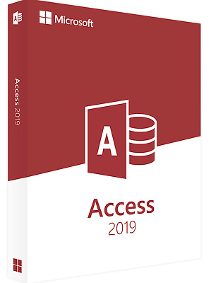 Microsoft Access 2019 Professional Plus - Official Download & Key- 32/64 Bit