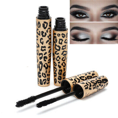 2 PC Set 4D Silk Fiber Lash Mascara Eyelashes Enhancer Long Extension Waterproof