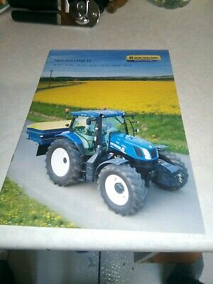 new holland tractor t6 sales brochure  24 pages