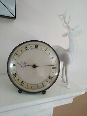 Smiths Antique Vintage Wind Up Mantle Clock
