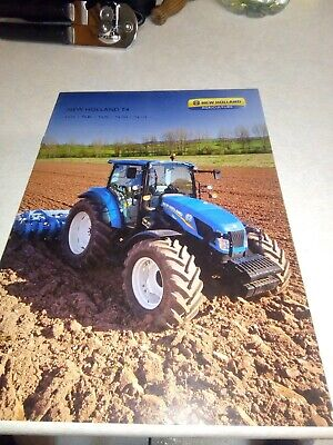 new holland tractor t4 sales brochure  20 pages
