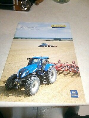 new holland tractor t8 sales brochure  25 pages