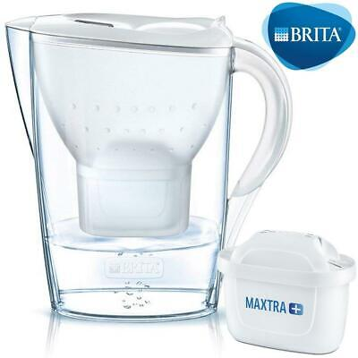 BRITA Marella Cool MAXTRA+ Plus 2.4L Water Filter Fridge Jug + Cartridge - White