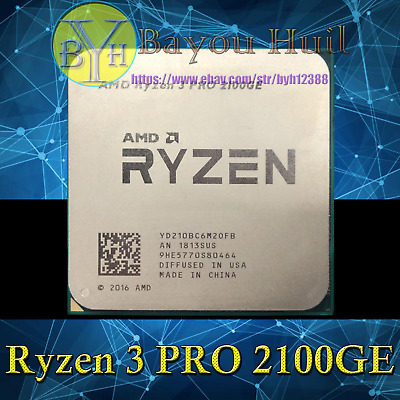 AMD Ryzen 3 PRO 2100GE 3.2GHz 2C/4T DDR4 35W Socket AM4 CPUs/Processors
