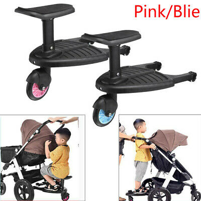 New Kids Safety Comfort Wheeled Pushchair / Stroller Step Board Up To 25Kg US