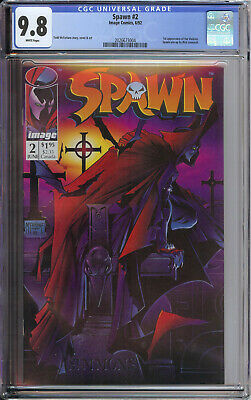 Spawn 2 CGC 9.8 White Pages Todd McFarlane Movie Soon 1st Appearance of Violator