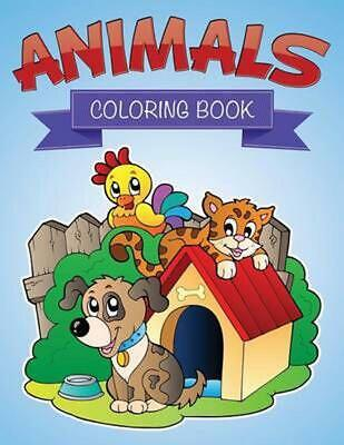 Animals Coloring Book- by Speedy Publishing LLC (English) Paperback Book Free Sh