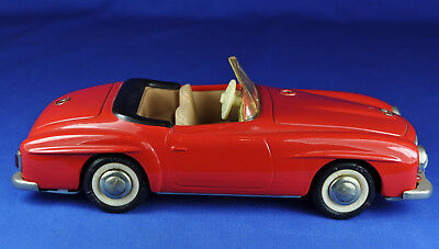 SCHUCO 2097 Mercedes 190 SL, rot / red, Western Germany, 1965-68, läuft / works