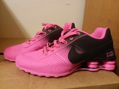 wholesale dealer 696d8 75790 NEW Women s Nike Shox Deliver. Hot Pink and Black.