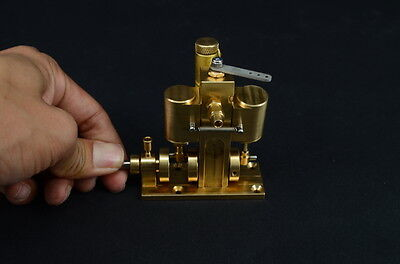 Twin Cylinder Oscillating Engine for RC Boat