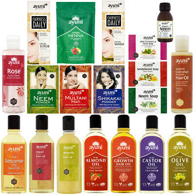 Ayumi Natural Herbal for Skin Body Hair Facial Traditional Indian Product