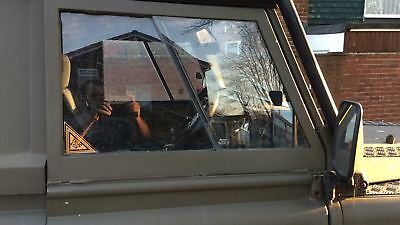 LAND ROVER 90 /110 DEFENDER TRUCLOX  PEDAL LOCK WITH  2 WINDOW DECALS not vw