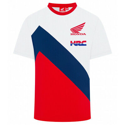 2019 Honda Racing HRC MotoGP Mens T-Shirt White Official Team Merchandise TEE