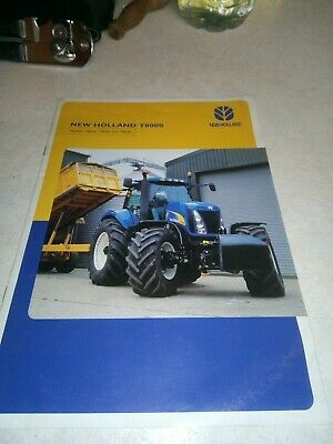 new holland tractor t8000 brochure  20 page