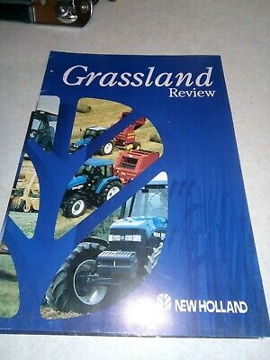 new holland grassland reveiw sale brochure  10 pages