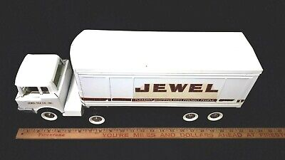 "1960's STRUCTO - Pressed Steel ""JEWEL"" Transport Truck - Very Good Condition"