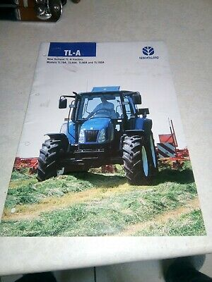 new holland tractor tl-a sale brochure  20 pages