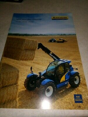 new holland lm5000 sale brochure  8 pages