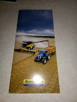 new holland the range sale brochure  38 pages