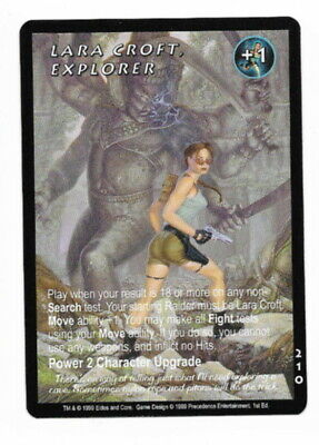 Collectible Card Games Ccg Mixed Card Lots 1999 Tomb Raider First Edition Ccg Rare Cards You Pick 1.99 Each