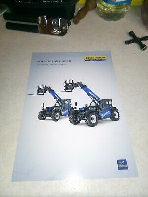 new holland lm5000 sale brochure  2 pages