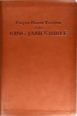 Proper Name Version of the King James Bible, Study Edition by Name Publishers