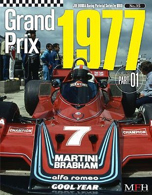 Racing Pictorial Series By Hiro No.35 : Grand Prix 1977 Part 01 - Livre Neuf