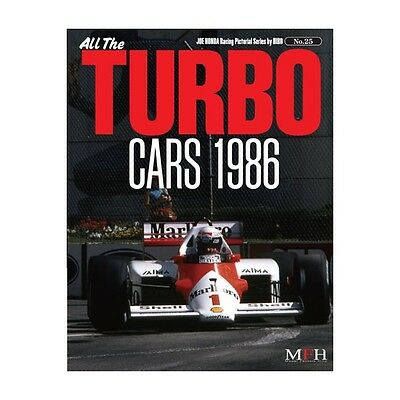 RACING PICTORIAL SERIES by HIRO N°25 : ALL THE TURBO CARS 1986 - LIVRE NEUF