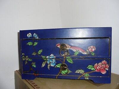 Oriental / Asian Style/ Jewellery/ trinket Box With Abacus To Top