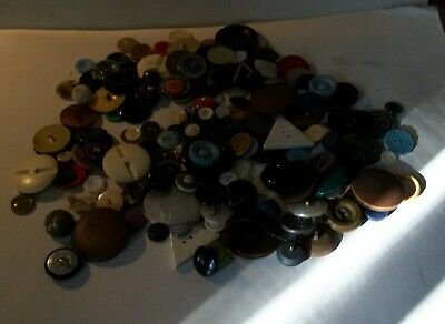 Job Lot Of Old Buttons
