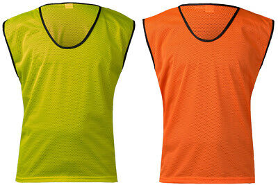 Adult Mesh Football Bibs Vest Rugby Hockey Training Sports Top Quality