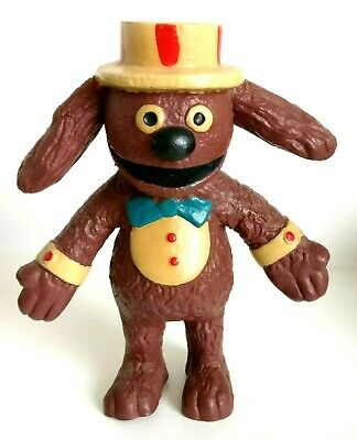 Vintage Muppets Doll - Rowlf / Rolf The Dog 1977 Toy - Bendy Toy