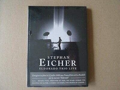 Stephan Eicher - Eldorado Trio Live - Barclay Dvd Pop Rock -Neuf New Sealed 2009