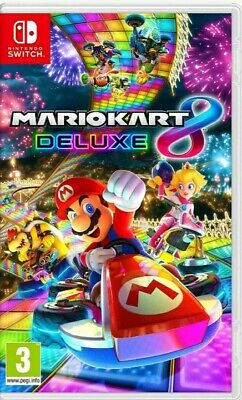 Mario Kart 8 Deluxe (Nintendo Switch) NEW & SEALED Fast Dispatch